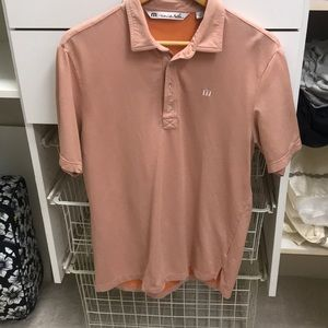 Other - Faded Orange Travis Matthew Golf Polo